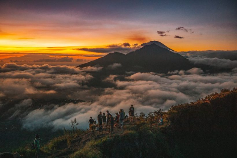 Mount Batur Sunrise Hike and Swim on Natural Hot Spring